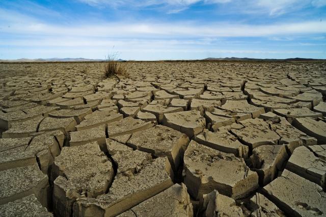 Mongólia, repedezett föld, szárazság, klímaváltozás