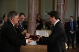 Academy honours presented during the 187th General Assembly