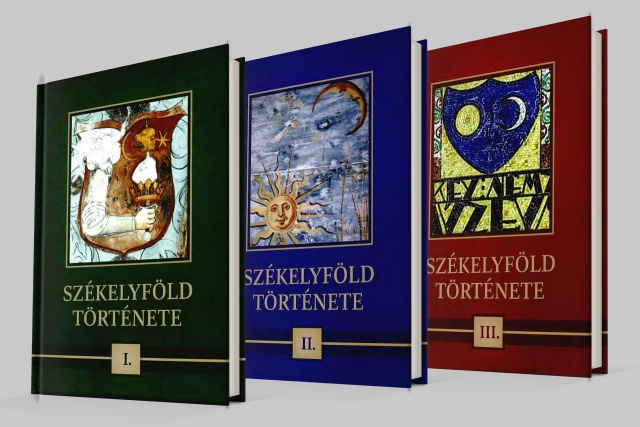 A Székelyföld története három kötete