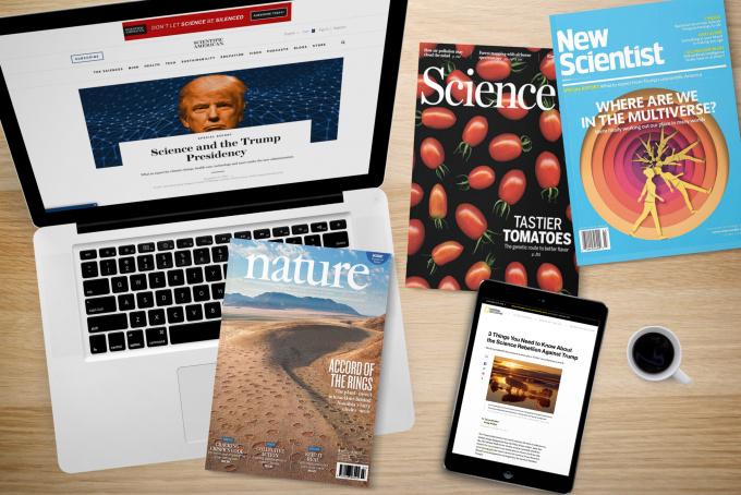 Trump and Science – a press review of scientific and popular science papers
