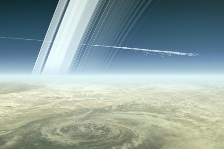 Megsemmisült a Cassini – vége a küldetésnek