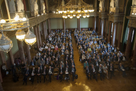 Recognitions from the European scientific community – award ceremony on video