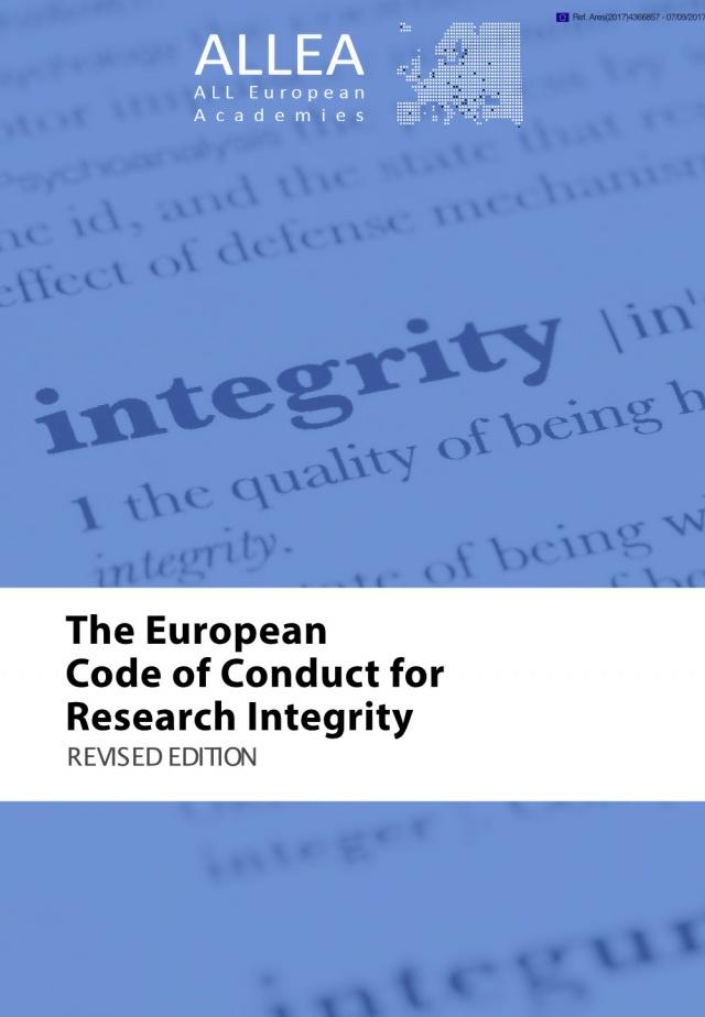 európai kutatói integritással foglalkozó magatartási kódex