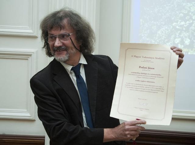 Podani János, székfoglaló előadás 2017. október 10.