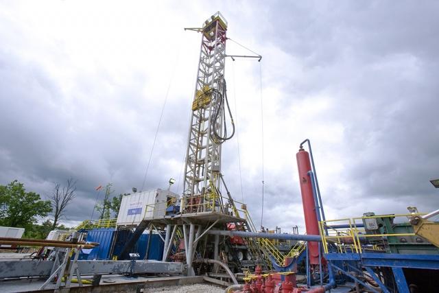 Szén-dioxid-leválasztó üzemegység egy szénbányánál