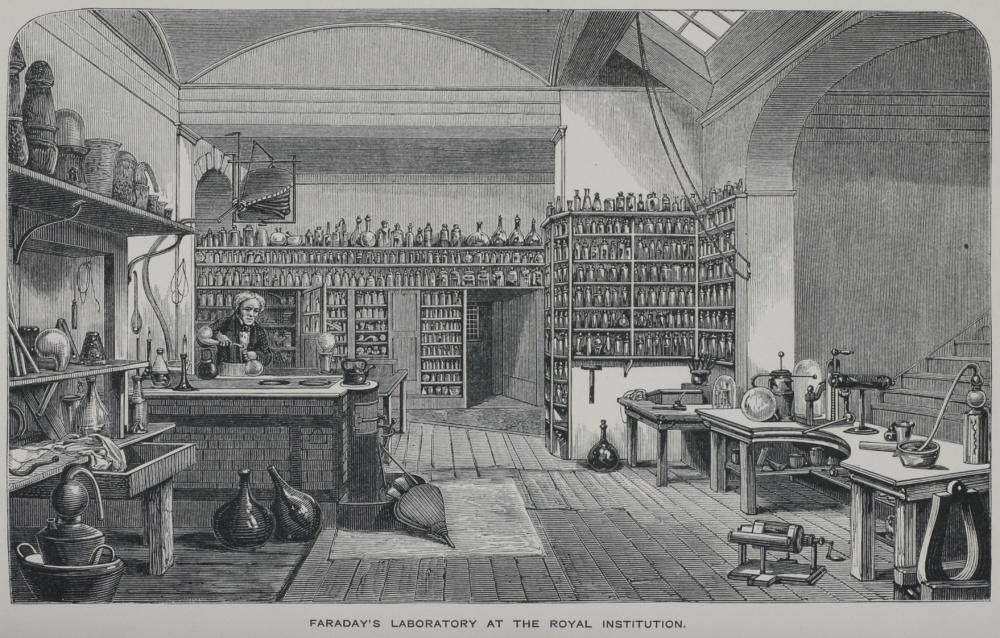 Michael Faraday laboratóriuma