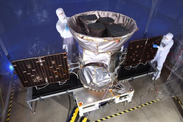 A TESS – a fotón még laboratóriumi ellenőrzés alatt