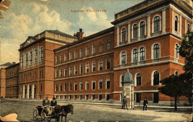 A Kolozsvári Magyar Királyi Ferenc József Tudományegyetemet 1972-ben alapították. Főépülete 1893–1902 között készült el a Farkas (ma Kogălniceanu) utcában