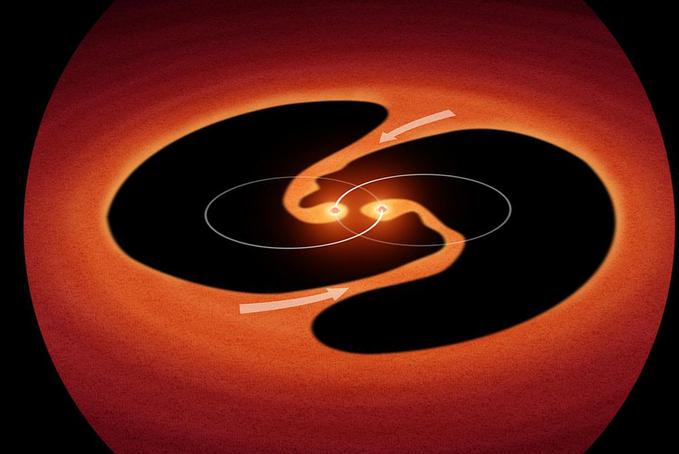 A NASA két csúcsműszerét használták magyar kutatók egy különleges fiatal kettős csillagrendszer titkainak felderítésére