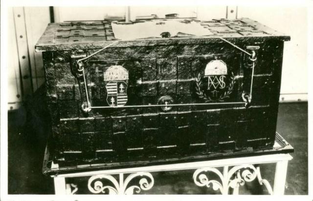 Képeslap az utolsó királykoronázás (1916) alkalmából