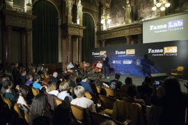 Famelab – talking science – Deadline for applications 16 March