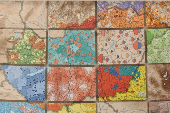 Vadonatúj interaktív térképek fedik fel a magyar társadalom szerkezetének rejtett összefüggéseit